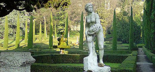 Jardin Giusti, Vérone, Italie