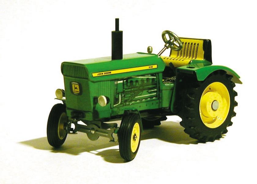 Tracteur, jouet en métal