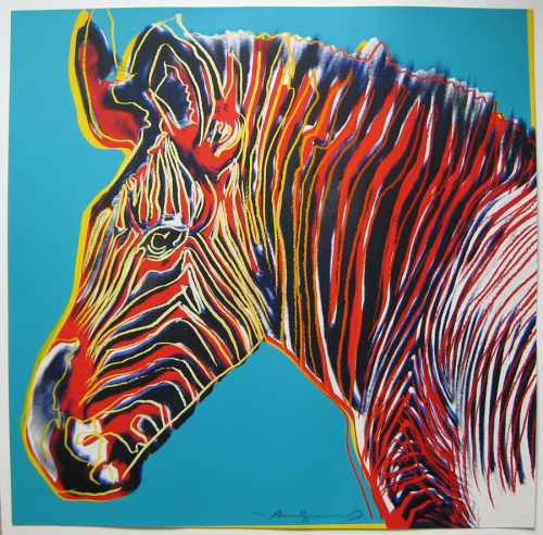 Zebra, Pop art