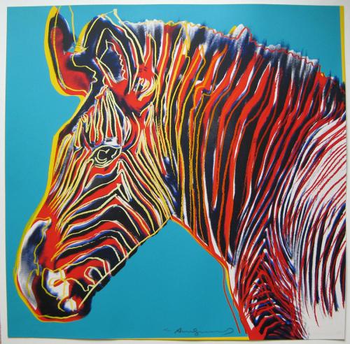 Zebra, Pop art