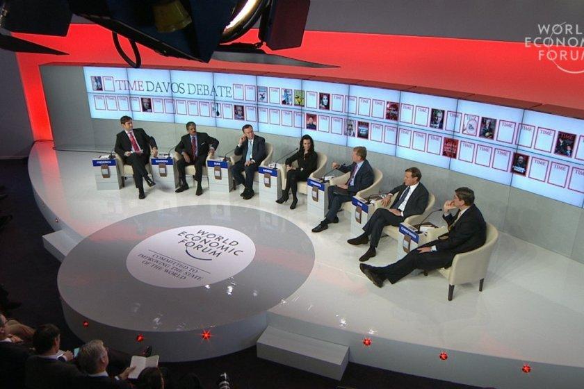 Leading Through Adversity, Davos, WEF